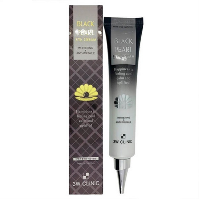 3W Clinic Whitening & Anti-Wrinkle Black Pearl Eye Cream