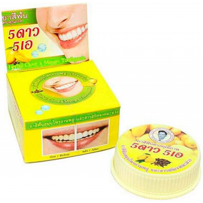 5STAR 4A, Mango Herbal Toothpaste, 25 г