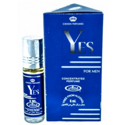 Al-Rehab YES FOR MEN c роллером, 6 мл