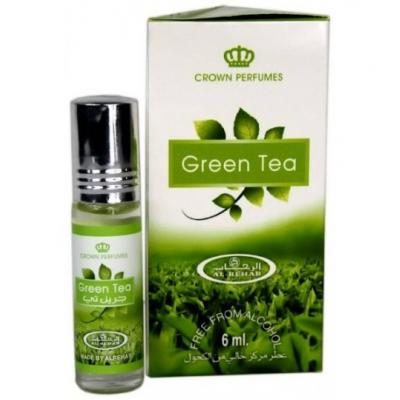 Al-Rehab GREEN TEA c роллером, 6 мл