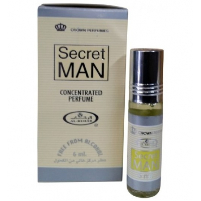 Al-Rehab SECRET MAN с роллером 6 мл.