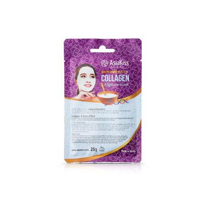 AsiaKiss collagen alginate mask, 25 г.