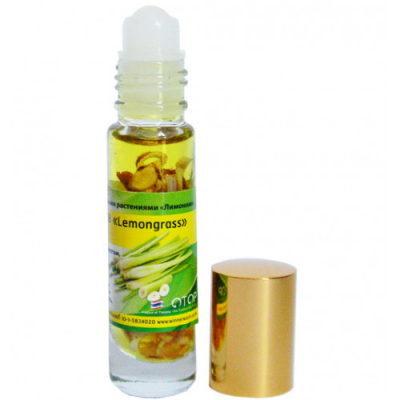 BANNA, Oil Balm with Lemongrass, 10 г