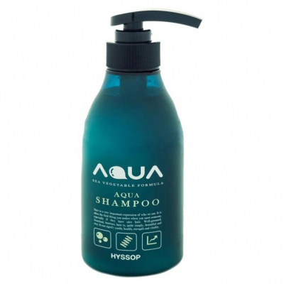 Hyssop Aqua Shampoo Sea Vegetables Formula, 400 мл.