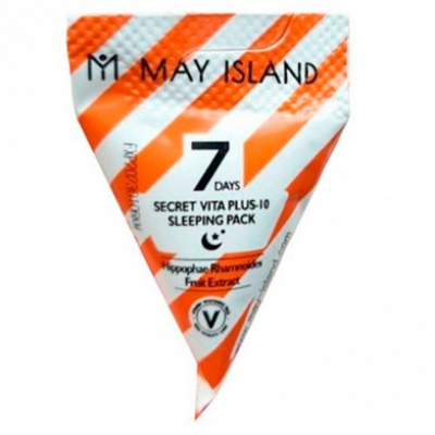 MAY ISLAND 7 Days Secret Vita Plus-10 Sleeping Pack
