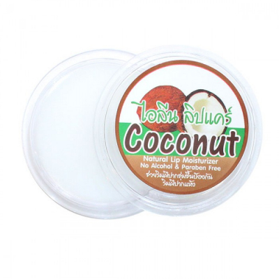 Natural Lip Balm Coconut, 10 г.