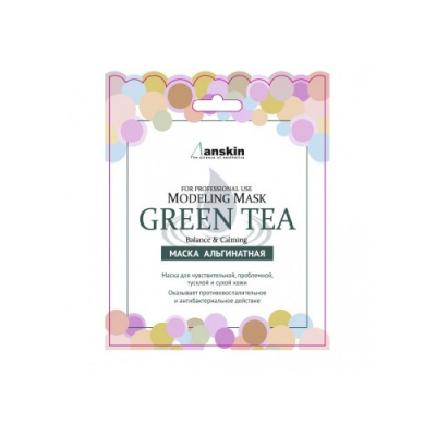 ANSKIN Modeling Mask Green Tea For Balance & Calming 25g