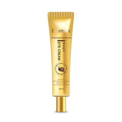 Deoproce Whitening And Anti-Wrinkle Snail Eye Cream