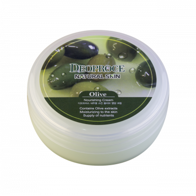 Deoproce Natural Skin Olive Nourishing Cream, 100 г.