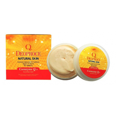 DEOPROCE NATURAL SKIN COENZYME Q10, 100 г.