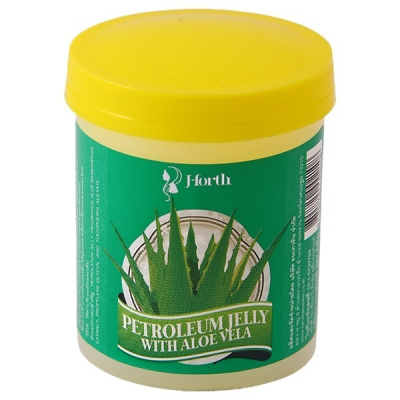 J-Forth Petroleum Jelly with Aloe Vera, 80 мл.