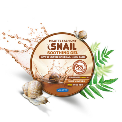 Milatte Fashiony Snail Soothing Gel. 300 мл.
