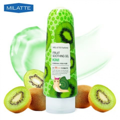 Milatte Fashiony Fruit Soothing Gel Kiwi, 200 гр.