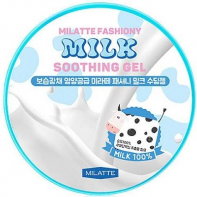 MILATTE Fashiony Milk Soothing Gel, 300 мл.