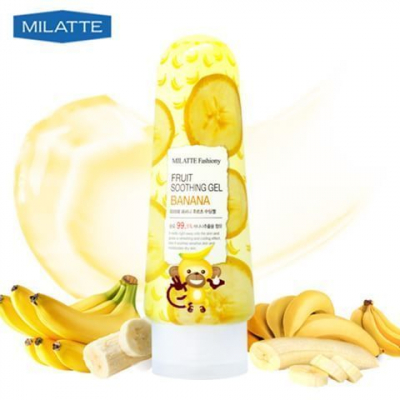 Milatte Fashiony Fruit Soothing Gel Banana, 200 гр.